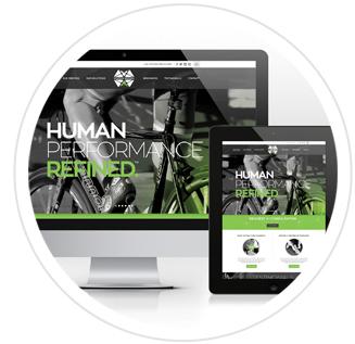 Structural Elements Responsive website design